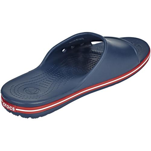Crocs Crocband II Slide - Sandales - bleu sur campz.fr ! Prix Le Moins Cher En Ligne 7tfxwLASLy